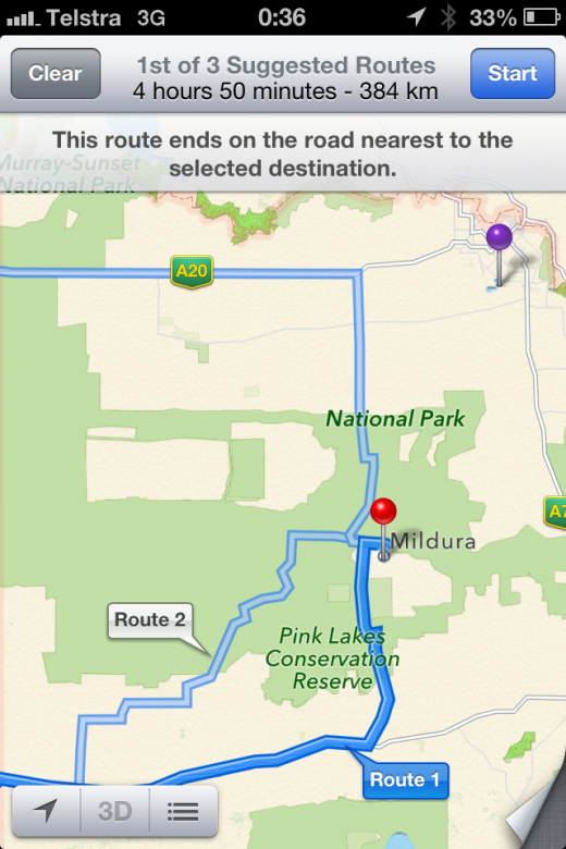 photo2 520x780 Australian police warn against using Apple Maps after incorrect data puts travelers in danger