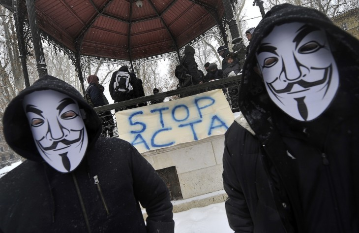 stop acta protests via getty images 730x473 2012s biggest tech news in pictures