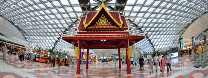Suvarnabhumi Airport in Thailand tops Instagram's list of most photographed places in 2012