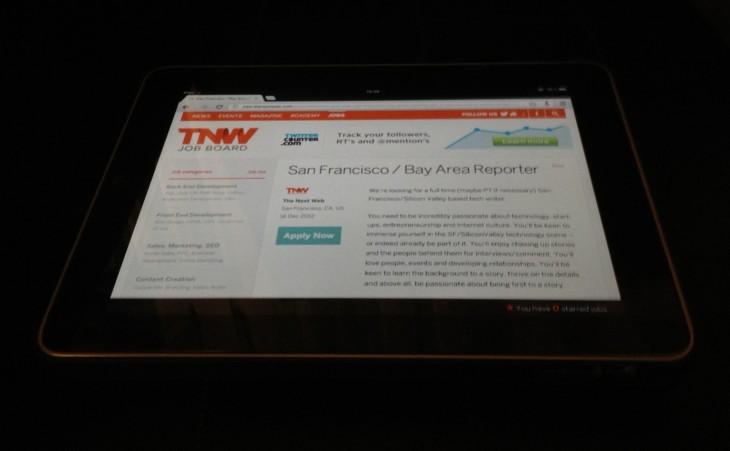 tnw job board and offer 730x451 From Internet freedom to TNW Conference: A year at The Next Web