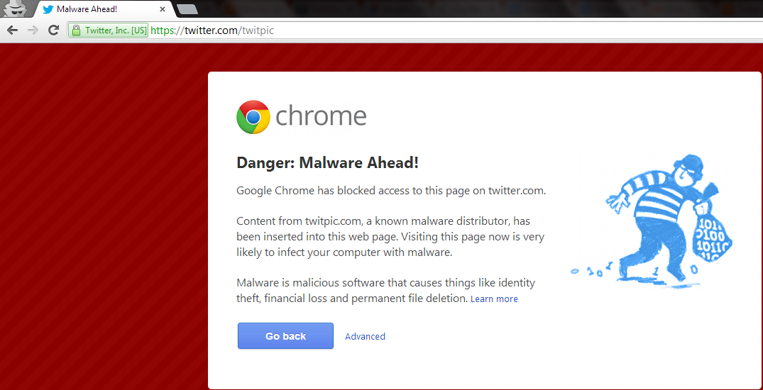 Google Blocks TwitPic, Chrome Denies Access to Twitter Pages - photo#38