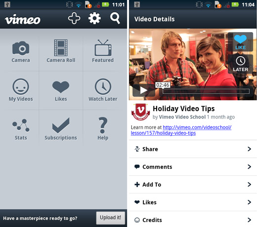 vimeo 15 of the best photo, video and camera apps of 2012