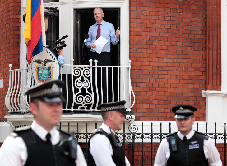 Julian Assange: Convicted, unrepentant, and behind bars