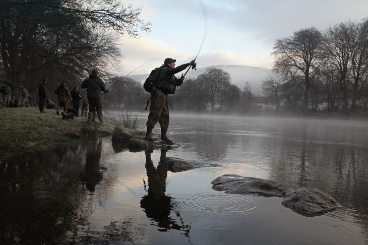 Traditional Opening Of The Tay Salmon Season