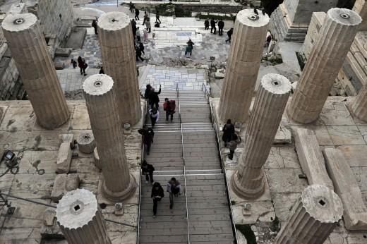 GREECE-ARCHAEOLOGY-TRAVEL-TOURISM