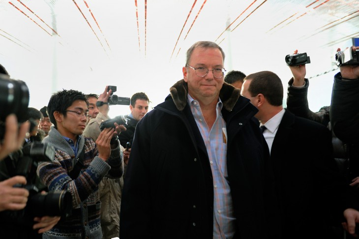 Google's Eric Schmidt calls for an open Internet as he lifts the lid on his visit to North Korea ...