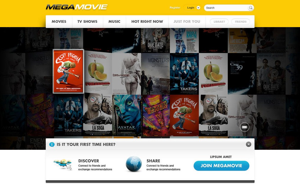 2013 01 19 10h58 50 Mega hits 100,000 registered users in one hour as Kim Dotcom teases MPAA with MegaMovie screenshot