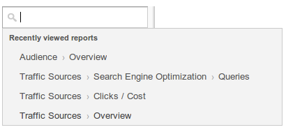 41 Google revamps Analytics with new widgets, layouts, sidebar, recent history, and improved search