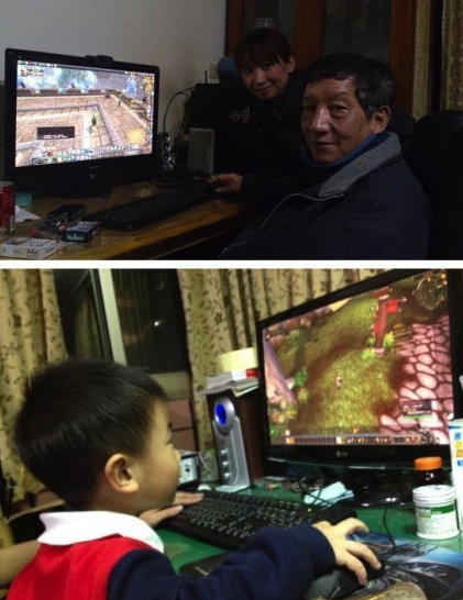 Hardcore Chinese grandpa maxes out six World of Warcraft characters