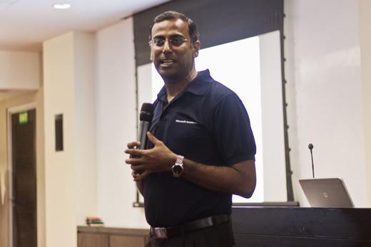 Amit Chatterjee ( MD, Microsoft India (R&D) Pvt Ltd)
