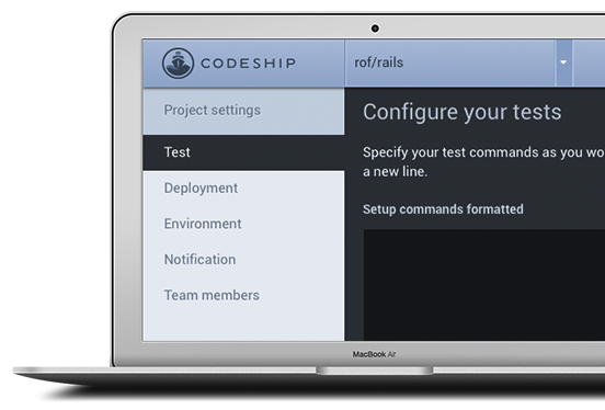 Continuous Integration and Deployment - Codeship-132142