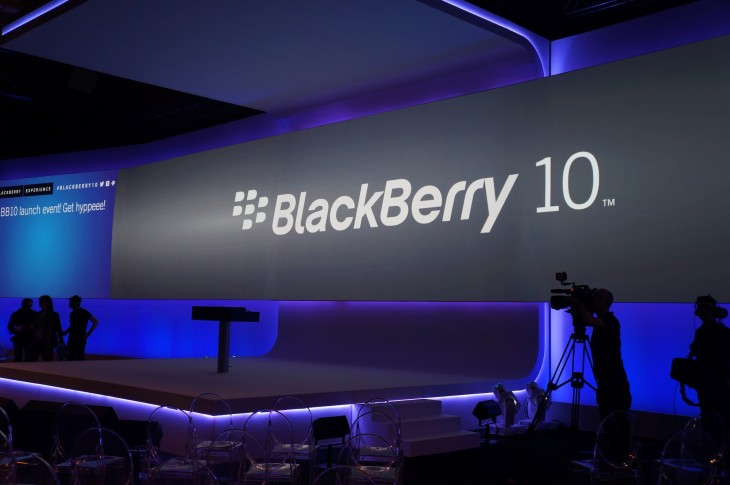 BlackBerry unveils BlackBerry 10 and its first two devices, the Z10 and Q10