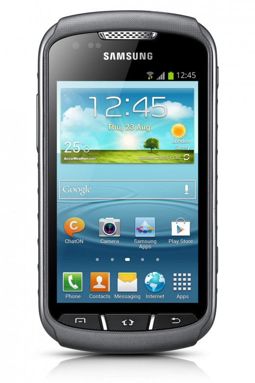 GALAXY Xcover 2 Product Image 11 520x780 Samsung unveils the Xcover 2, a 4 inch water resistant Android smartphone built for explorers