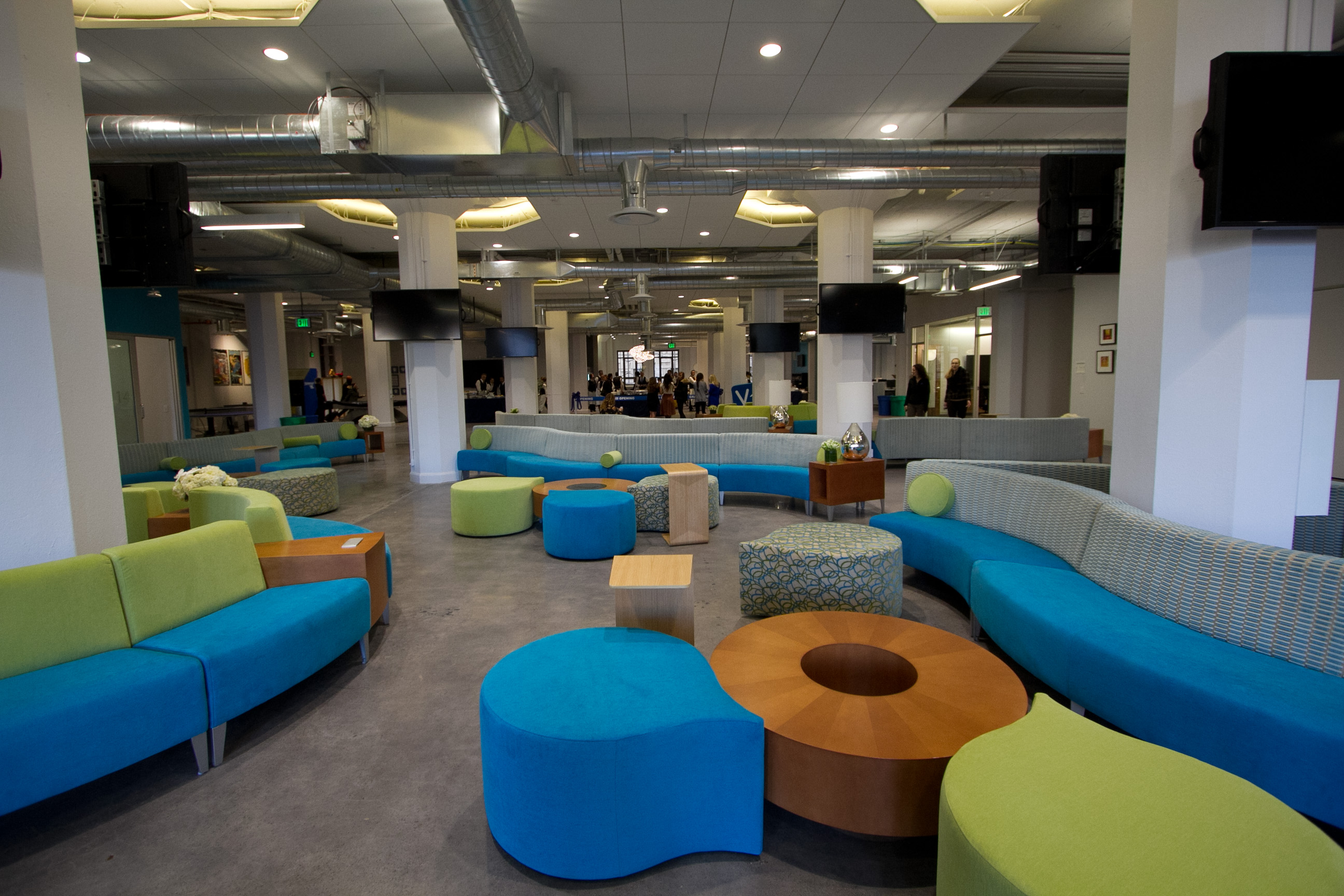 Yammer Opens Its New San Francisco Office Headquarters