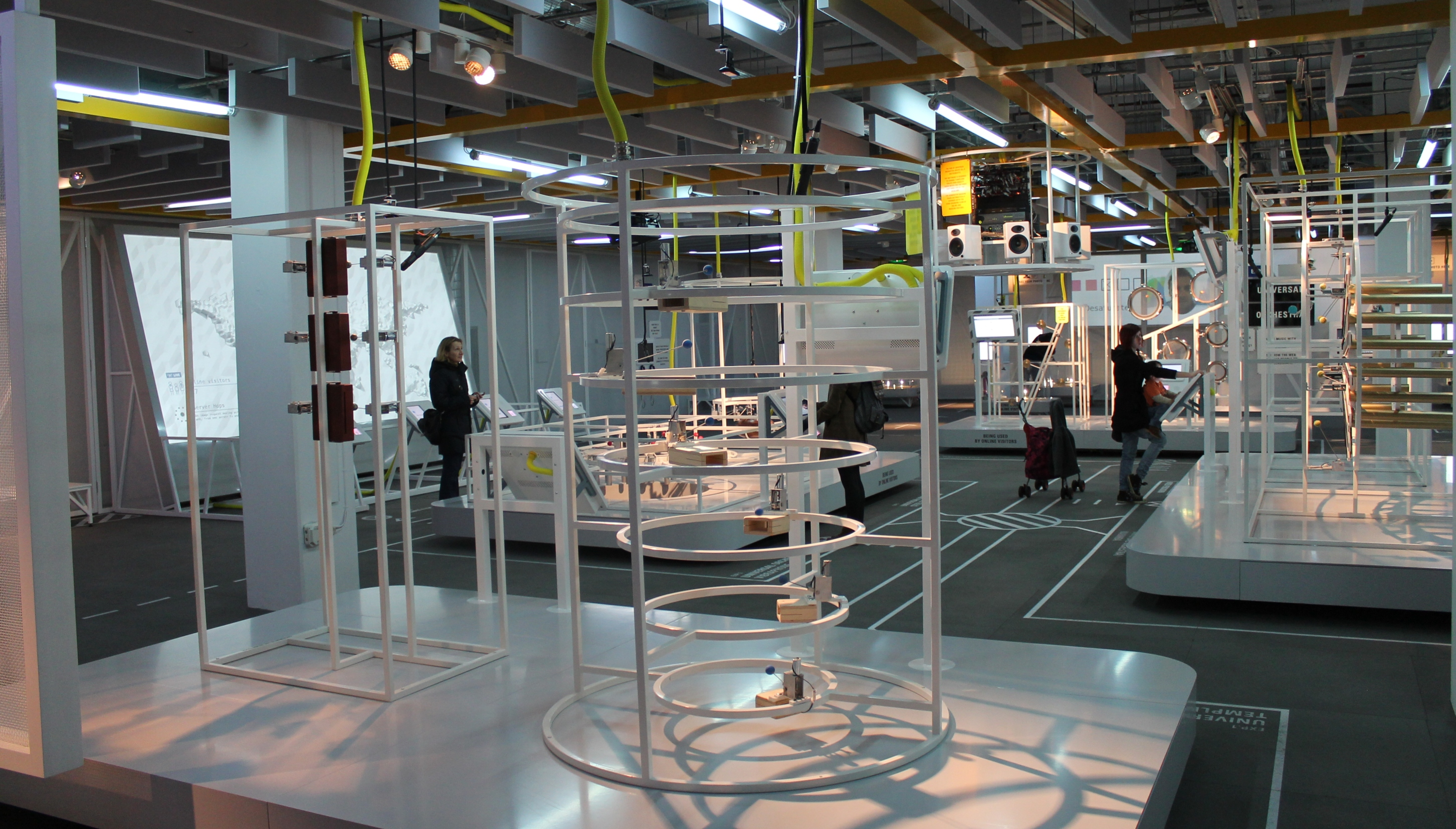 Inside Google's Web Lab at London's Science Museum
