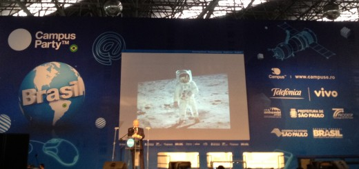 Buzz Aldrin at Campus Party Brasil