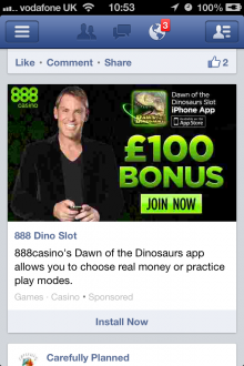 IMG 2588 220x330 Facebooks mobile display ads are gambling with my patience