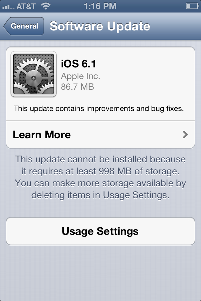 Apple releases iOS 6.1 with expanded LTE support, Fandango movie ticket purchasing for Siri and more