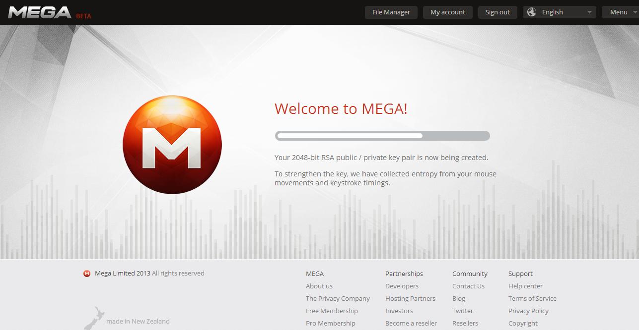 Mega key