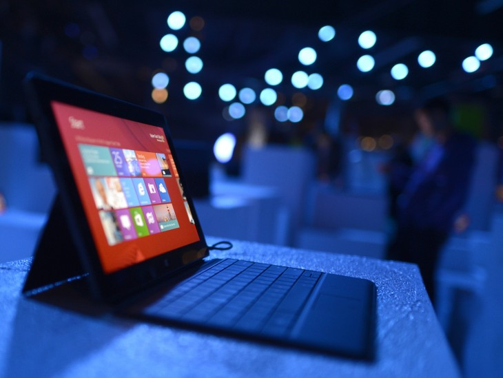 Surface controls 82% of the Windows RT market, giving Microsoft effective monopoly over the platform