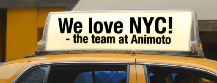 Animoto celebrates its fifth birthday with 6 million registered users and new 'I Love NY' ...
