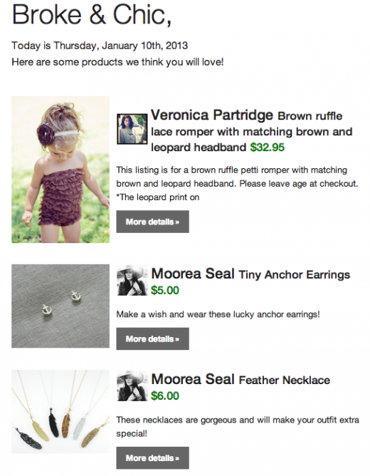 Screen Shot 2013 01 14 at 1.40.18 PM 520x668 Shopmine turns Pinterest into a daily email of shop able items from your feed