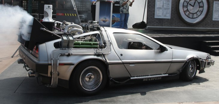 I want to do donuts in this DeLorean hovercraft
