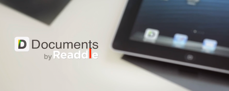 Readdle's Documents is a lean but powerful iPad app for file management, document viewing and media ...