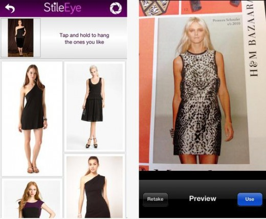 Screenshot 11 520x428 StileEye serves up fashion suggestions based on photos you take