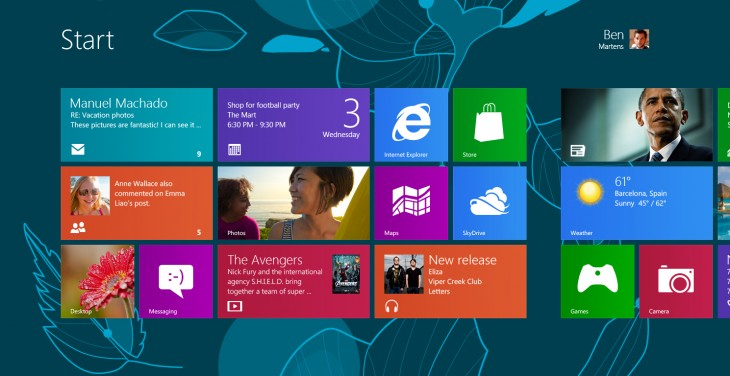 A look at the design process behind Windows 8s Start screen and Lock screen wallpaper
