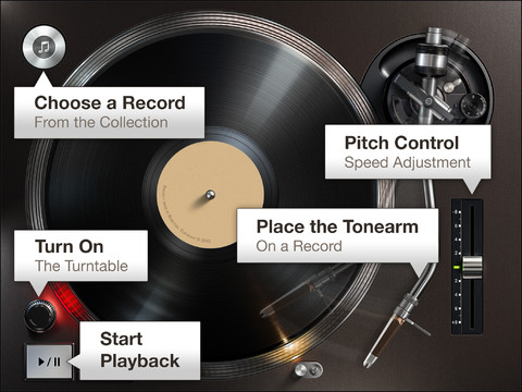 Turnplay A Realistic Record Player Style App For Ipad
