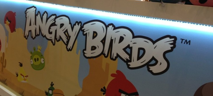 Rovio's Angry Birds games were downloaded 30m times over Christmas, 8m on Christmas Day alone