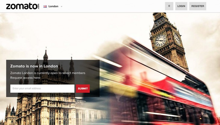 Zomato London