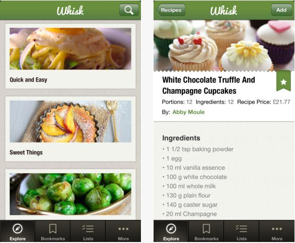 Whisk the most advanced food app ever a forumfinder Images