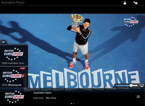 eurosport player  free for pc