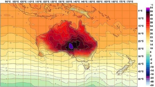 art weather 620x349 520x292 Australia is so hot right now, meteorologists had to add two new colors to temperature charts