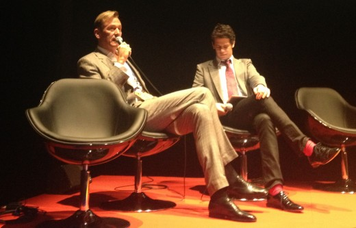 Axel Springer's Mathias Döpfner talks to Milo Yiannopoulos on Day 2.