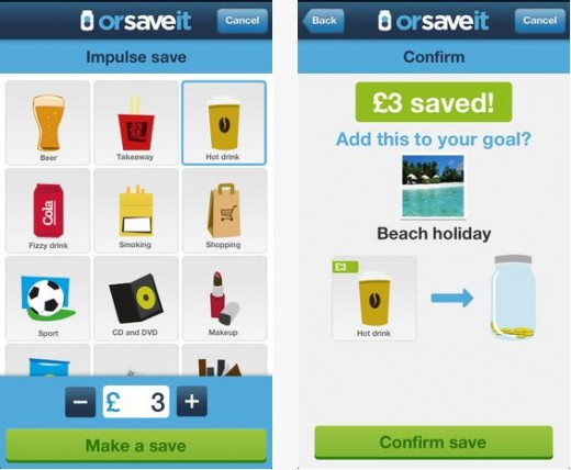 b14 520x428 OrSaveIt helps Brits record all their impulse savings on things they dont really need