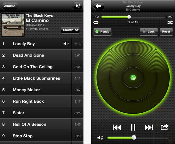 Image result for ios music player