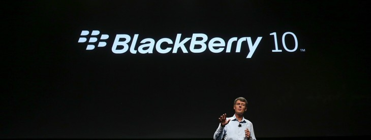 BlackBerry's share price plunges 20% following its surprise $84 million loss in Q1 2014