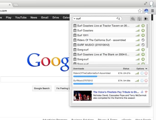 bittorrent surf BitTorrent brings torrent discovery, downloading directly to the browser with Surf Chrome extension