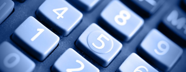 blue calculator via thinkstock