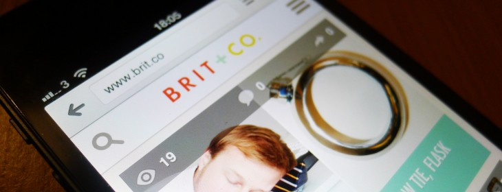 Brit + Co. adds user profiles and favorites to its technology, lifestyle and e-commerce website