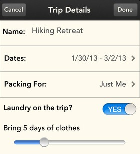 c7 Bon voyage! Stow is a sweet iOS packing list app for forgetful travellers