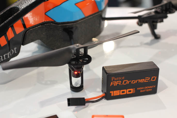 ces 2 3 Parrot embraces the AR Drone 2.0s potential as a mobile camera with new Flight Recorder