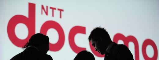 NTT DoCoMo staff prepare for the company