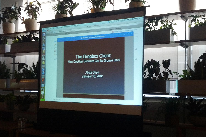 drop box presentation