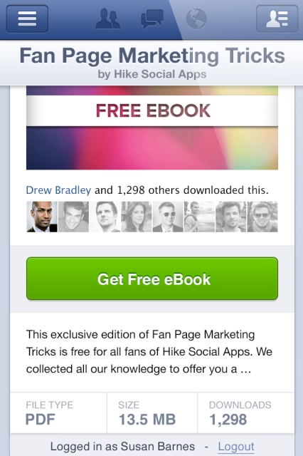 dropify mobile Dropify: Embed any file on Facebook for friends and fans to download directly