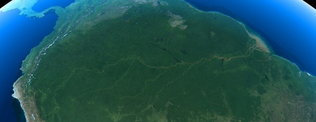 earth amazon via thinkstock