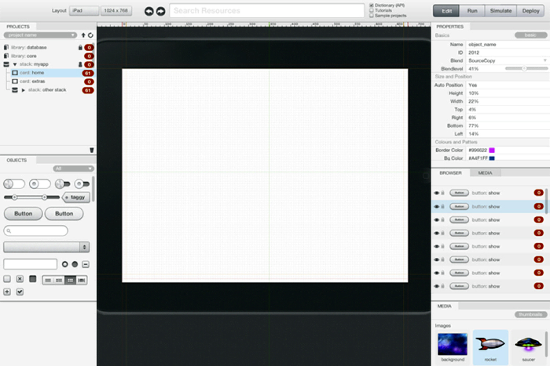 example screen
